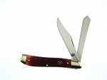 Frost Cutlery Whitetail Red Bone Dog Leg Trapper