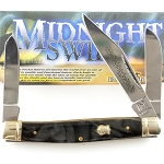 Rough Rider Midnight Swirl Stockman Pocket Knife
