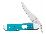 Case XX Smooth Caribbean Blue Bone 61953L Russlock