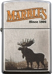Zippo Marbles Knife Co. Moose Lighter
