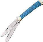 Rough Rider Turquoise Handle Trapper