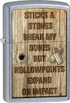 Zippo Sticks and Stones Lighter
