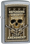 Zippo Defending Liberty 2nd Amendment Lighter
