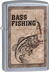 Zippo Bass Fishing Lighter